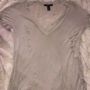 Forever 21 holey top